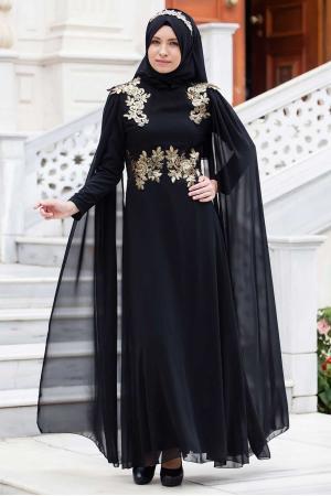 Abiye Elbise Siyah