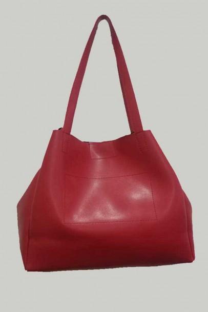 Bayan Omuz Ve El Çanta Kırmızı