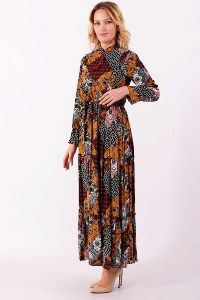 Çiçekli Yazlık Elbise Modelleri