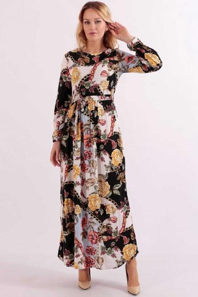 Robadan Uzun yazlık Elbise