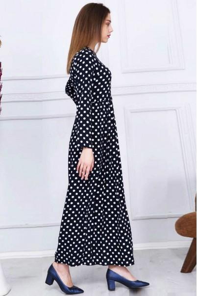Yazlık Puantiyeli Elbise