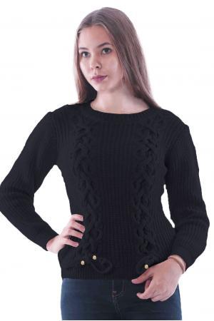 Bayan Triko Kazak Siyah