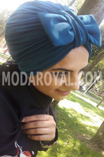 Bayan Şal Boneli Fiyonklu Havacı