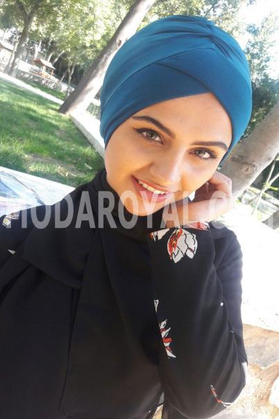 Bayan Tesettür Şal Boneli Havacı