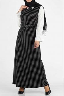 ebc4682a459b0 Tesettür Jile Elbise Modelleri ve Fiyatları