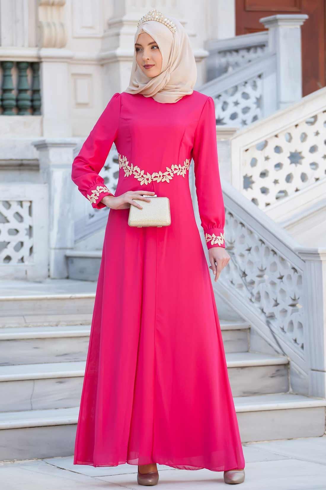 8b3698b1fd027 Düğün Nişan Şifon Abiye Elbise modelleri