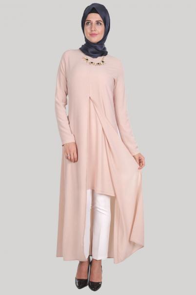Elbise Acık Pile Pudra