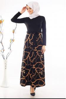 2d12e36ec072b Tesettür Elbise - Tesettür Yazlık Elbise Fiyatları