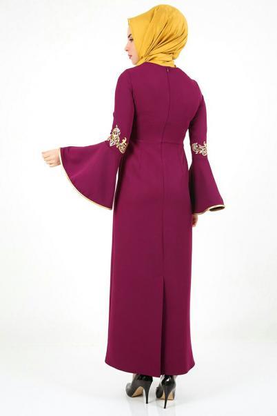 Mürdün Nakışlı Elbise