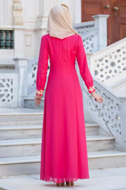 Düğün Nişan Şifon Abiye Elbise modelleri