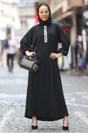 Ferace Elbise Siyah
