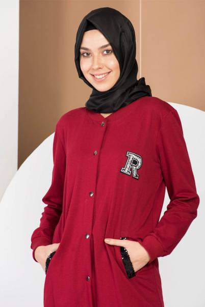 Tunik Cepli Bordo