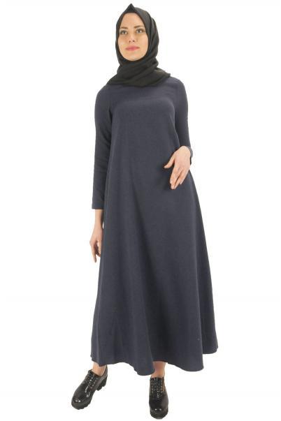 Uzun bayan elbise