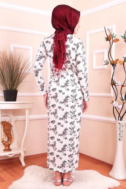 Günlük Boydan Yazlık Elbise