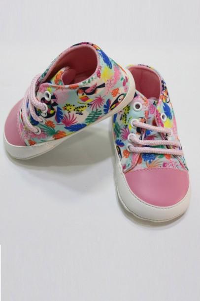 Çocuk Ayakkabısı Desenli İlk Adım