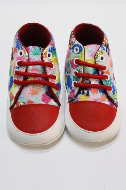 Çocuk Ayakkabısı İlk Adım Desenli