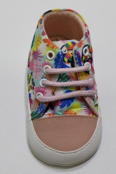 Desenli Çocuk Ayakkabısı İlk Adım