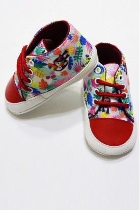 İlk Adım Çocuk Ayakkabısı Desenli
