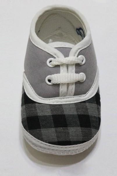 Lacivert Ekose Çocuk  Ayakkabısı