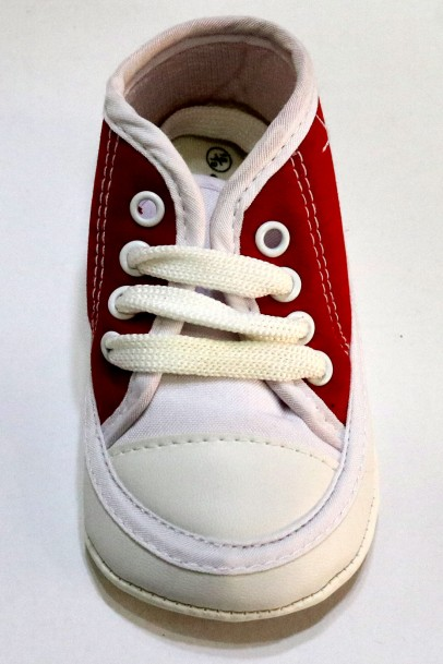 Çocuk  Ayakkabısı Kırmızı Beyaz