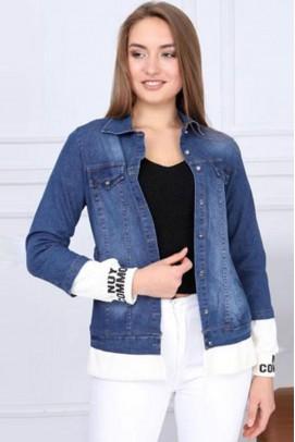Mavi Kadın Kot Ceket