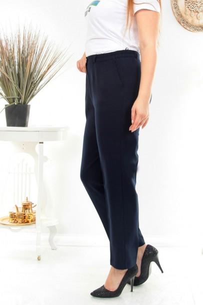 Büyük Beden Kumaş Kadın Pantolon