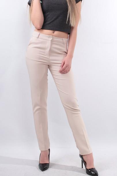 Kemik Kadın Bilek boy Pantolon