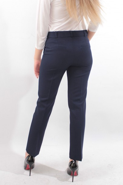 Lacivert Kadın Bilek boy Pantolon