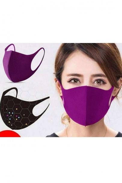 5 Renk - 5 - Adet Yıkana Bilir Maske