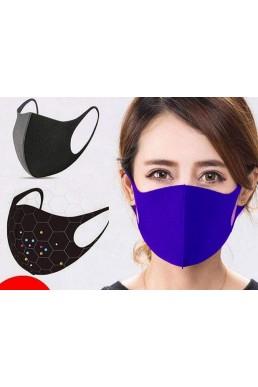 5 Renk - 5 - Adet Yıkanabilir Maske